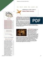 Mitologia Greca e Latina, Museo, Muzio Scevola