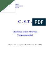 Caiet CST