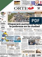 Periódico Norte de Ciudad Juárez 20 de Octubre de 2013