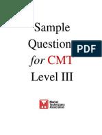 Cmt3 Questions