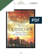 Sakmyster David - El Quinto Sol