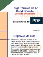 Aula_05_Carga Termica de Ar Condicionado