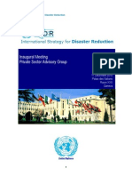 UNISDR Background Doc PrivateSectorAdvisory 17DEC10 .