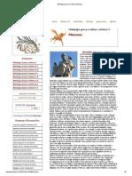 Mitologia Greca e Latina, Minosse