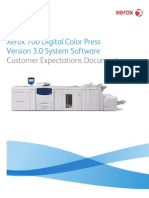 Xerox 700 DCP Customer Expectations Document - Rev.3.3