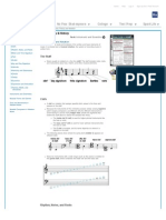 Music Theory and Notation