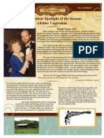 Student Example Newsletter