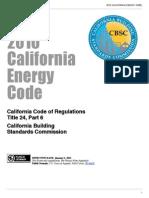 2010 California Energy Code