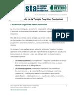 En La Vanguardia de La Terapia Cognitivo Conductual