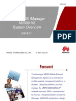 OWL000100 iManager M2000 V2 System Overview ISSUE2.1