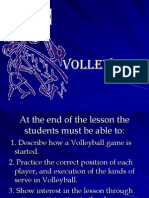 teaching demo-volleyball
