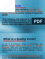 Quality Circles Formation