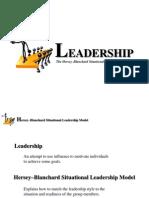 Leadership in a modern organisation