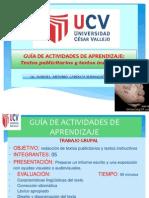 GUÌA DE APRENDIZAJE PARA TEXTOS PUBLICITARIOS_ 2013_INDUSTRIAL