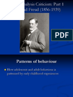 Psychoanalysis & Deconstruction Slides