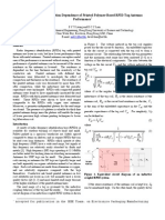 Geometric and Compaction Dependence of Printed Polymer-Based RFID Tag Antenna