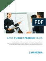 Brosur Ganesha Public Speaking School 2