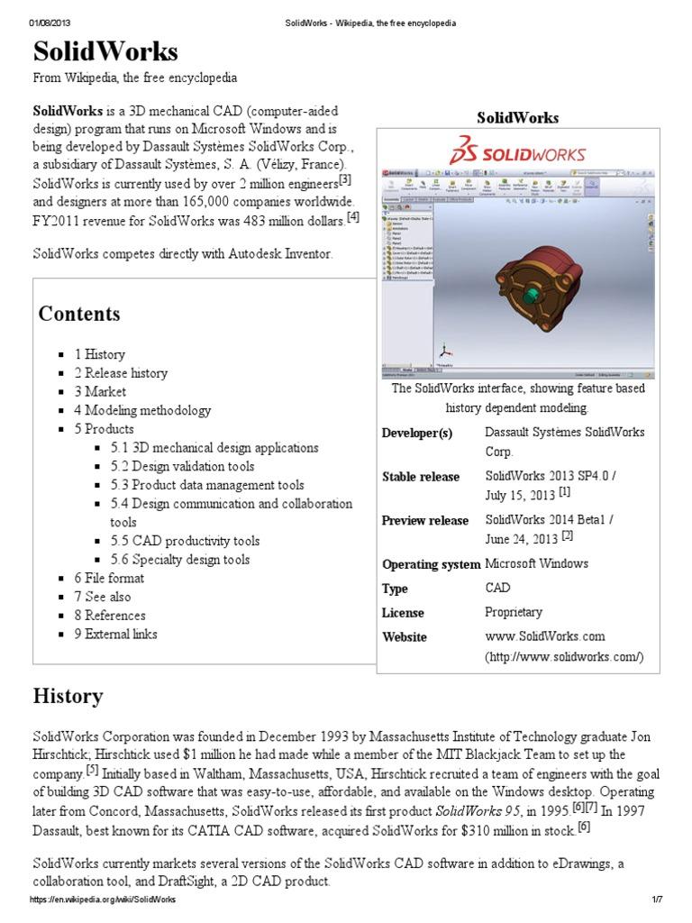 free programs info solidworks 2013 sp3