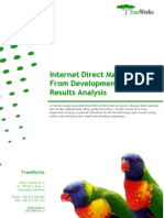 Internet Direct Mail Campaign from Development to Results Analysis (TreeWorks white paper)