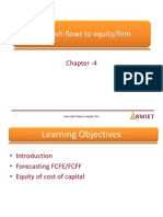 Chapter 4 Free Cash Flows to Equity Frim