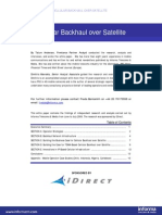 White Paper iDirect Celular Backhaul Over Satellite