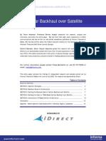 White Paper iDirect Celular Backhaul Over Satellite