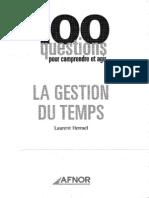 43524971 La Gestion Du Temps