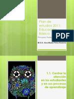 Plan de estudios 2011PRINCIPIOS PEDAGÓGICOS