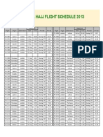 Hajj Schedule 2013 Ver 4
