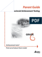 SG Gr6 Achievement Testing Guide