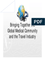 Bringing Together The Golbal Medical Community and the Travel Industry, Anne Marie Moebes, Travelsavers, 2011