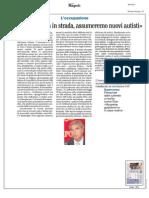 Rassegna Stampa 20.10.2013