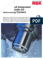 High-speed Integrated Motor Spindle