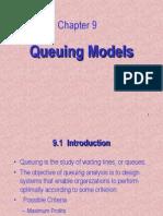 Ch09 - Queuing