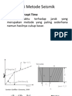 Interpretasi Metode Seismik