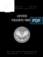 Japanese Parachute Troops