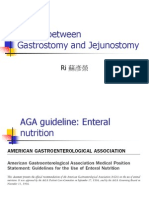 10865926 Choice Between Gastrostomy and Jejunostomy