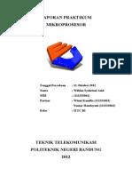 Laporan Praktikum Mikroprosesor