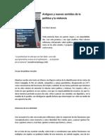 Antiguos y nuevos sentidos de la política y la violencia - Pilar Calveiro