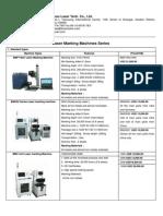 Product List-Laser Marking Machine Series