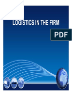 Logistics in the Firm