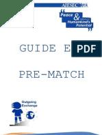 EP Guide Pre-Match