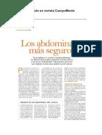 Abdominales sin Riesgo - Articulo en Revista