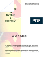 Defects in Dyeing and Printing