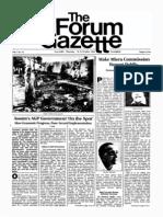 The Forum Gazette Vol. 1 No. 10 October 16-31, 1986