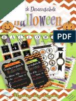 Pack Descargable Halloween