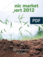 Organic Market Report 2012