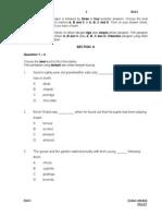 English Y6 Paper 1