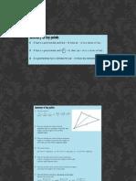 Maths Summary