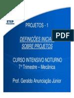 Definicoes Sobre Projetos